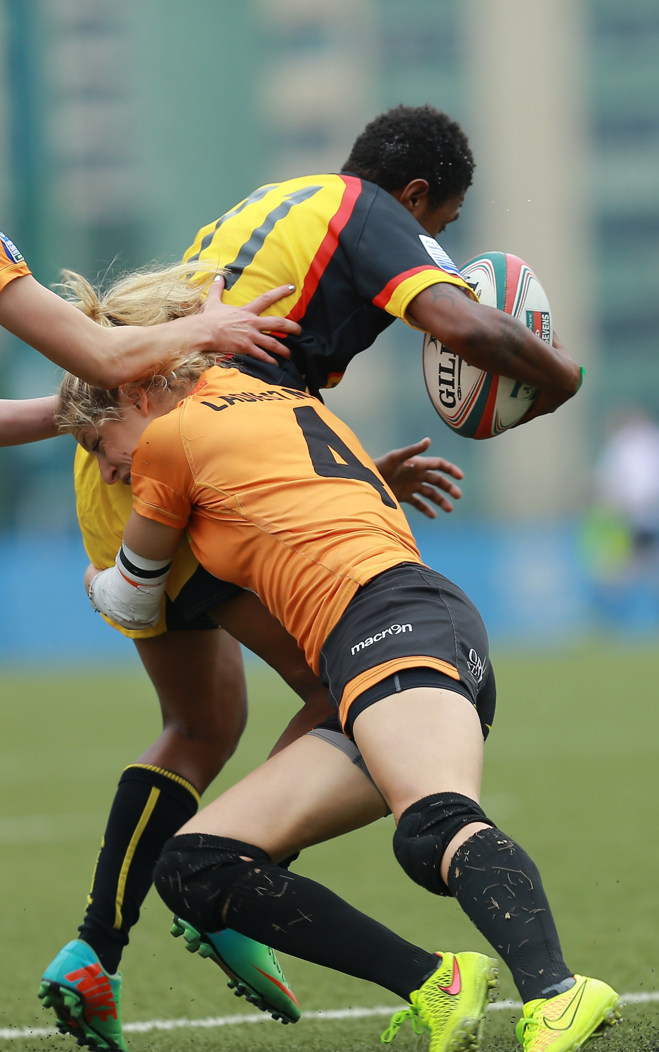 Tessa Veldhuis - Rugby Sevens International