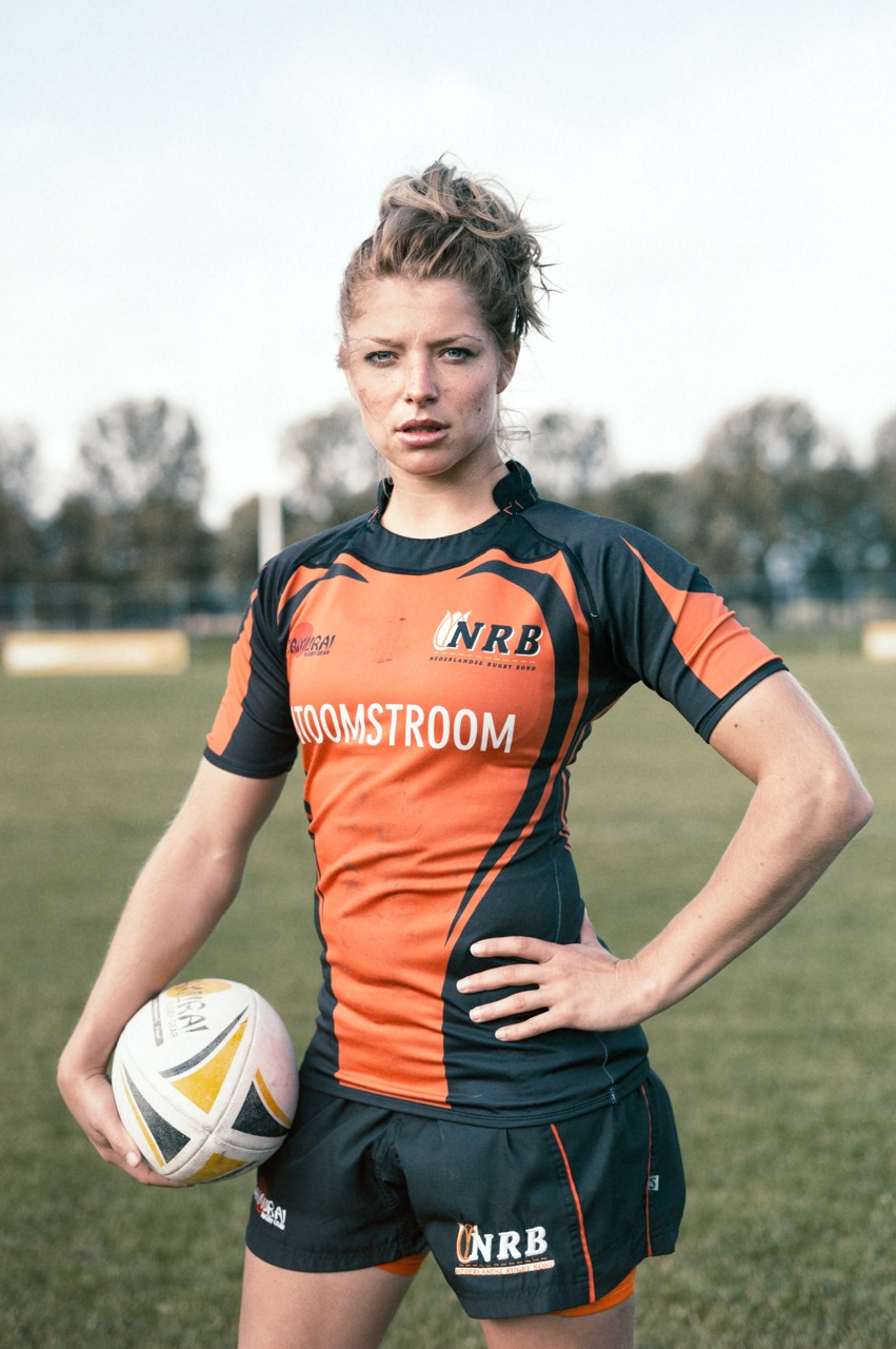 Rugby Tessa Portret